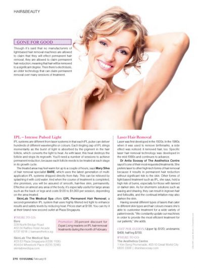 Laser Hair Removal Singapore - How to Permanently Reduce Hair on Your Body Through Lasers