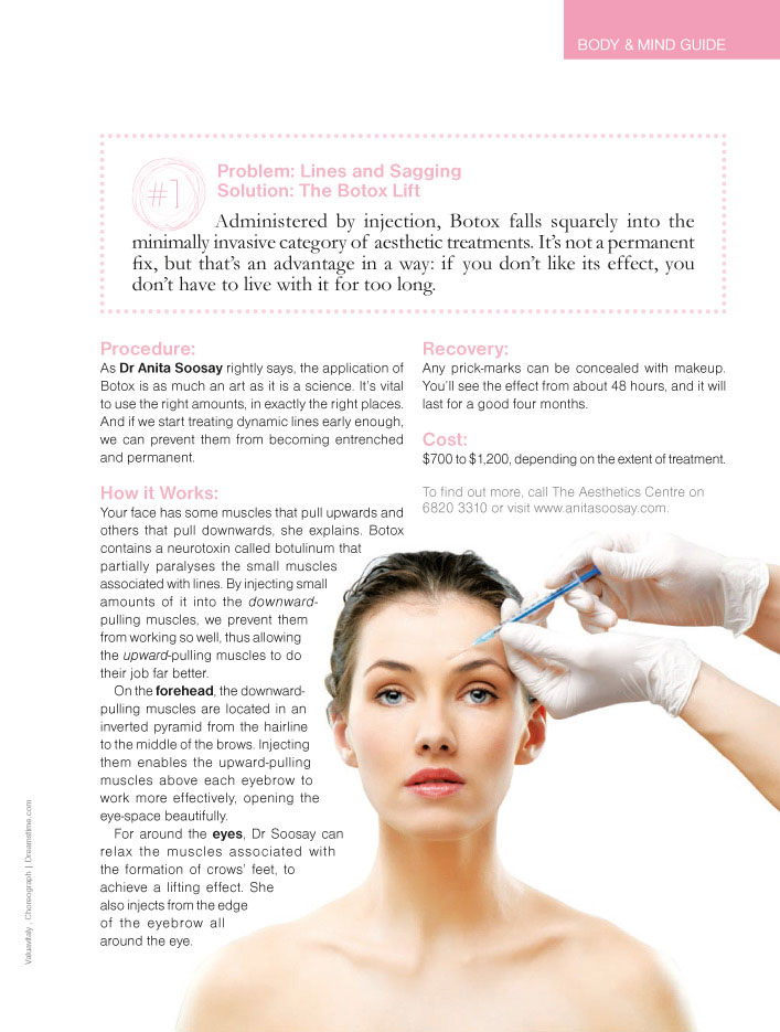 Cosmetic Injectible Singapore - The Science of Nonsurgical Facelift
