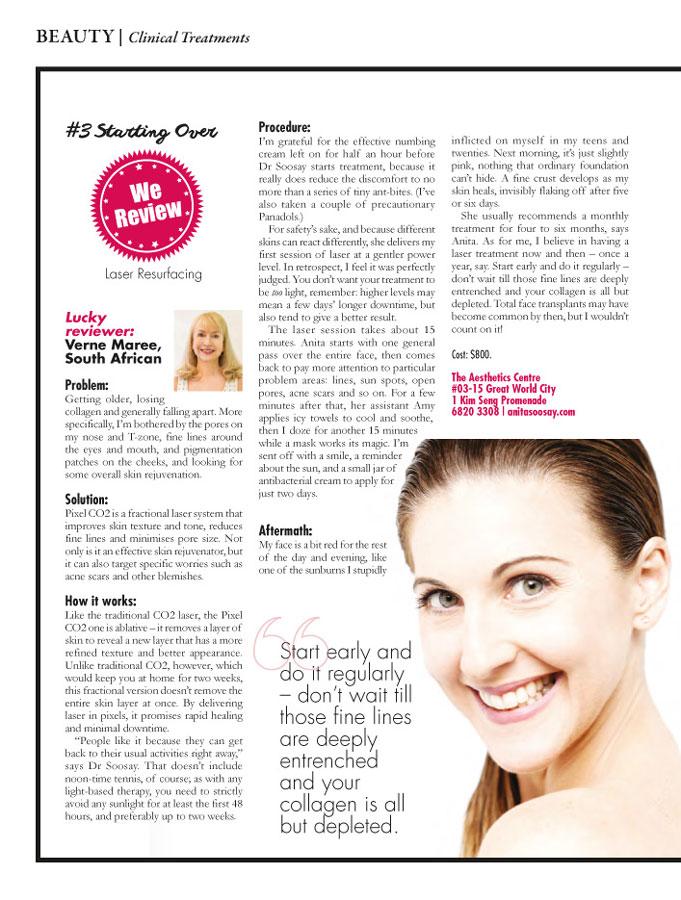 Skin Resurfacing Singapore - Achieve Total Skin Revitalisation