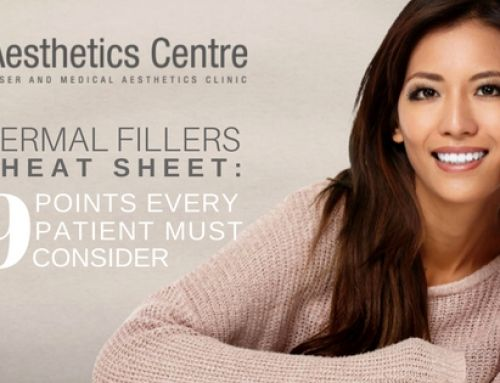 A Newbie's 9-Point Dermal Filler Cheat Sheet (A Must Read!)