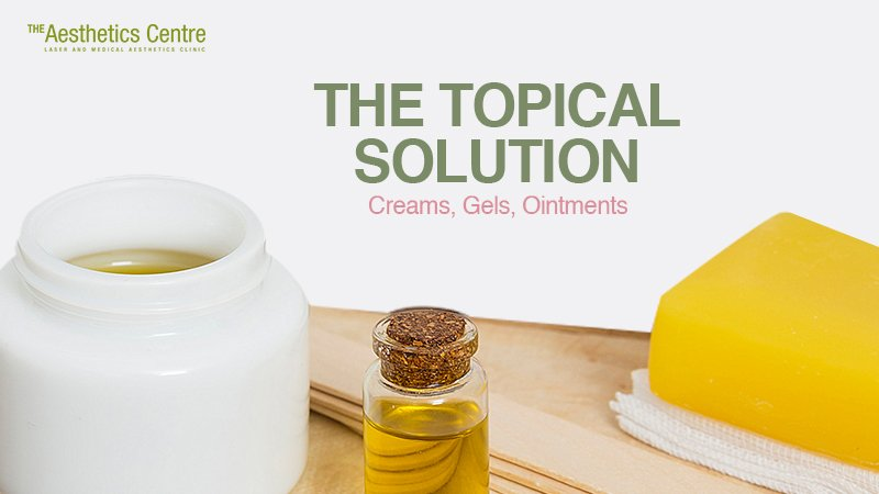 The Aesthetics Centre-The Topical Solution Creams Gels Ointments