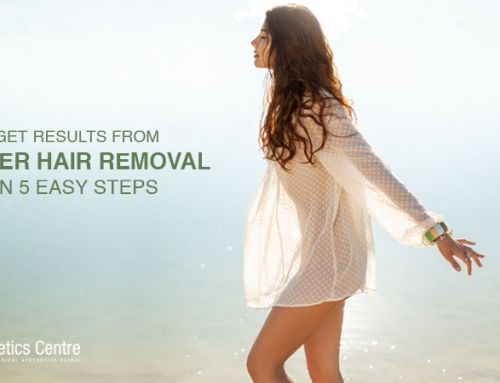 GET RESULTS FROM LASER HAIR REMOVAL IN 5 EASY STEPS