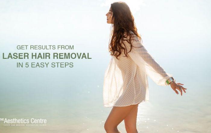 5 easy steps for laser hair removal