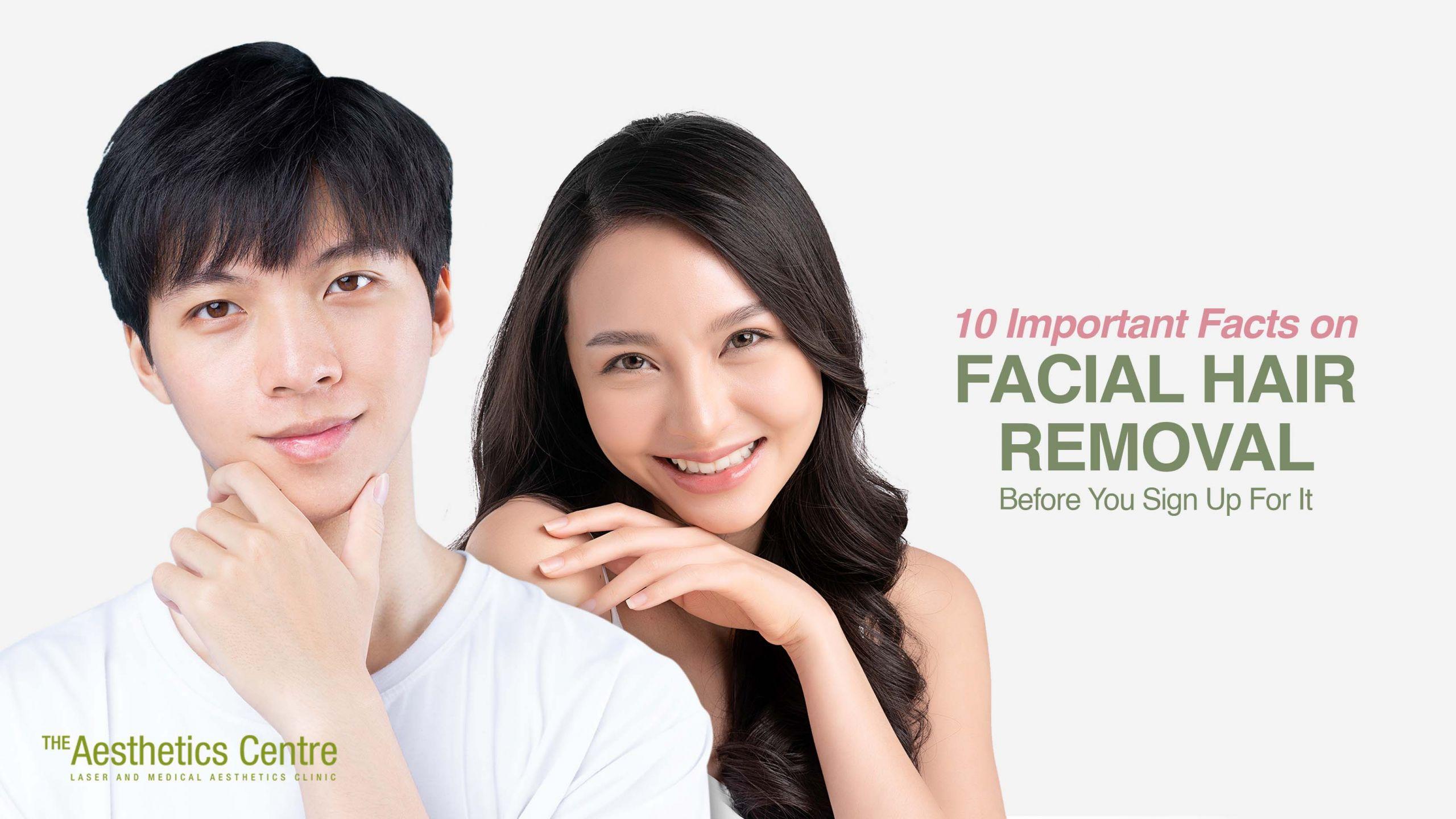 The Aesthetics Centre - Facial Hair Removal Singapore
